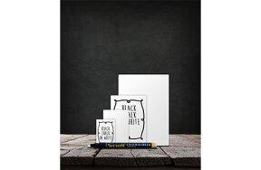 MINI CHALK BOARD TAGS WHITE